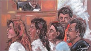 Российские агенты перед судом