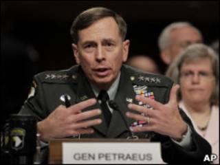 Janar David Petraeus a gaban majalisar dokokin Amurka