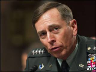 General David Petraeus (arquivo)