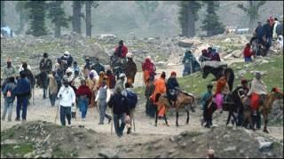 अमरनाथ यात्रा (फ़ाइल फ़ोटो)