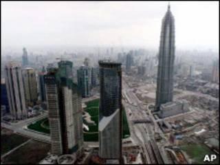 Шанхай, деловой центр города
