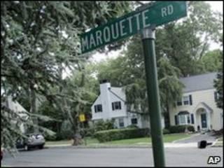 Улица, на которой жили некоторые из арестованных