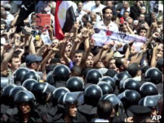 مظاهرات في الإسكندرية بمصر