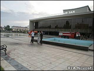 Театрально-концертный зал в Грозном (архивное фото)