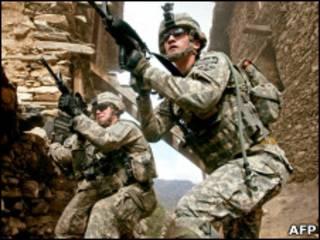 قوات أجنبية في افغانستان