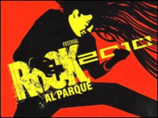Detalle del afiche de Rock al Parque