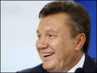 الرئيس الأوكراني يانوكوفيتش