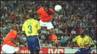 Netherlands Vs Brazil waxay ku kulmeen ciyaarihii 1994
