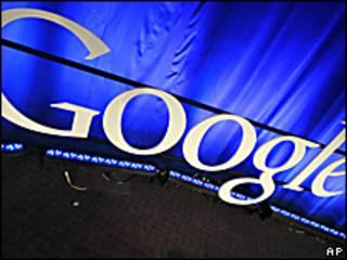 Logo de Google en el lugar donde realizó el anuncio