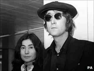 列侬与大野洋子