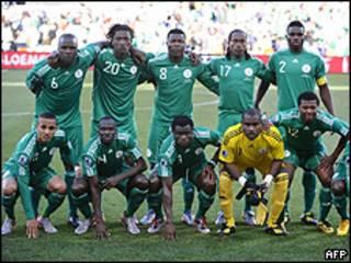 Seleção da Nigéria (arquivo)