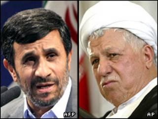 هاشمی رفسنجانی - احمدی نژاد