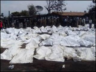 Xác nạn nhân trong túi nylon