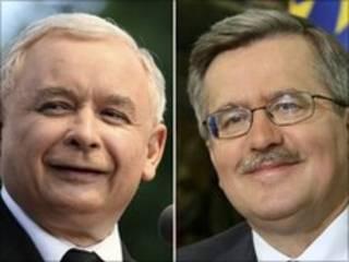 Hai ứng viên chức tổng thống Ba Lan