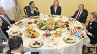 Хиллари Клинтон в Ереване