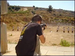 Тренировка израильской полиции