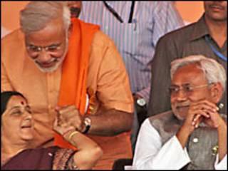 नरेंद्र मोदी और नीतीश कुमार (फ़ोइल फ़ोटो)