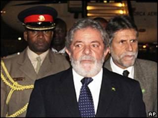 Luiz Inácio Lula da Silva no Quênia