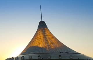 Lều cao nhất thế giới ở Kazakhstan
