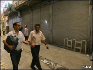 تعطیلی سه شنبه در بازار تهران - عکس از ایسنا