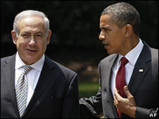 Беньямин Нетаняху и Барак Обама