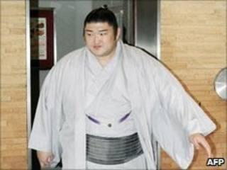 O lutador Kotomitsuki (arquivo)