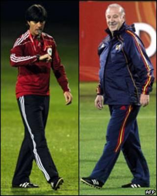 Тренеры Германии и Испании (коллаж)