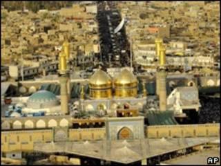 Hubbaren Imam Moussa Al-Kadhim dake Bagadaza