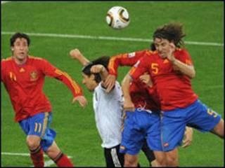 Uhispania waliishinda Ujerumani 1-0