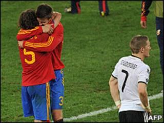 Матч Испания-Гурмания