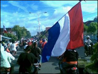 Pendukung Belanda di Ambon