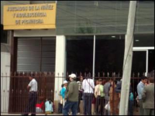 Juzgado en Ecuador