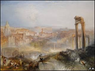 Bức tranh cảnh Rome của danh họa Turner