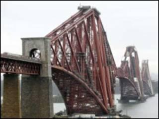 苏格兰的福斯桥(The Forth Bridge)