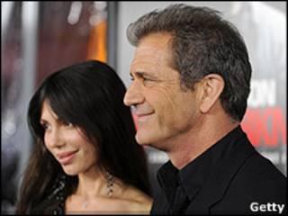 Mel Gibson y Oksanka Grigorieva