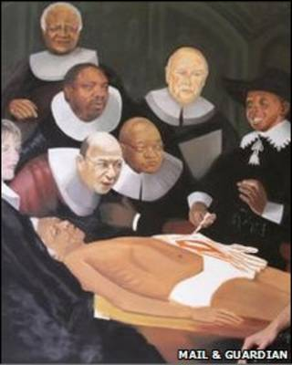 الزعيم الأفريقي، نيلسون مانديلا