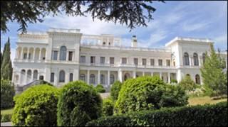 Лівадійський палац, Крим. Фото Укрінформу