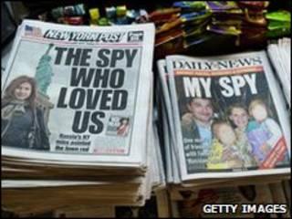 Prensa sobre el caso de los espías rusos