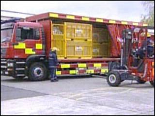 سيارات إطفاء الحرائق