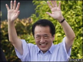 Firayim Minista Naoto Kan na Japan