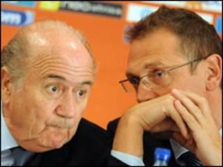 Blatter da Valcke