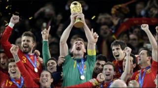 स्पेन विजयी