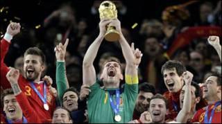 स्पेन की टीम