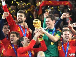 Сборная Испании - победитель ЧМ-2010