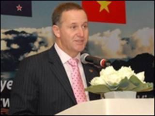 Thủ tướng John Key tại Hà Nội