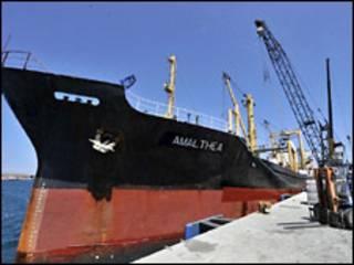 गज़ा जा रहा जहाज़ मिस्र की तरफ मोड़ा गया