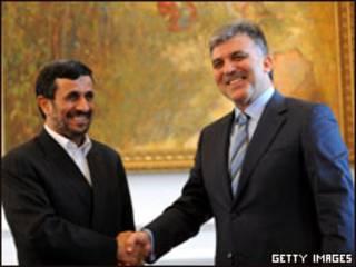 عبدالله جول ومحمود احمدي نجاد