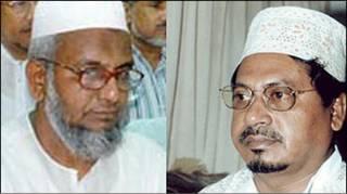 Jamaat-e-Islami leaders Muhammad Kamaruzzaman and Abdul qader Mollah