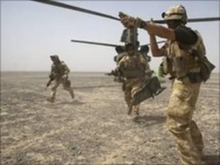 अफग़ानिस्तान में ब्रितानी सैनिक
