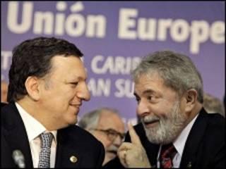 Lula e Durão Barroso